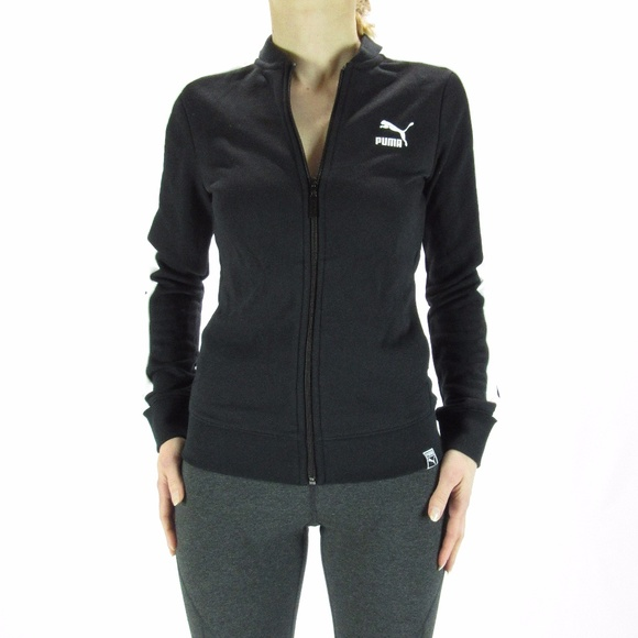 68c4173f Women's PUMA Black/White T7 Track Jacket NWT XS NWT